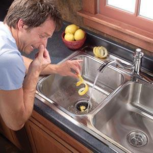 get rid of that garbage disposal smell